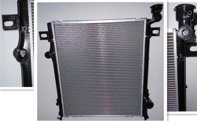 High Efficiency Auto Parts Radiator For DODGE NITRO 68003973AB Quick Delivery