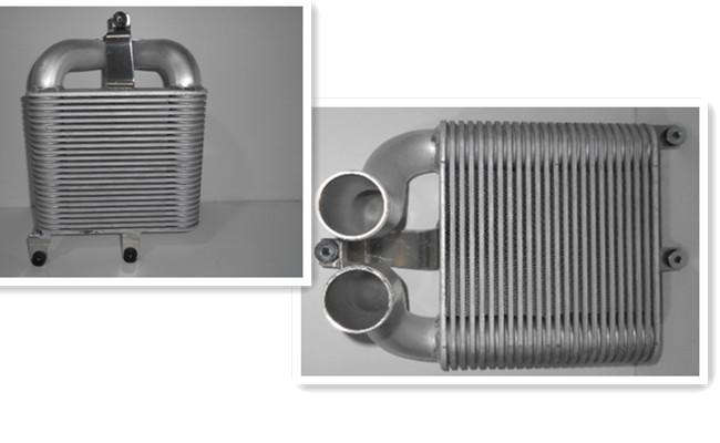High Performance Intercooler , Water To Air Intercooler For D-MAX 07