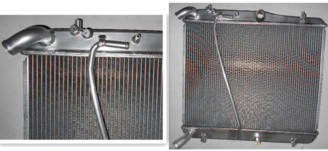 Cooling System Toyota Hiace Radiator For LEXUS Radiator Replacement