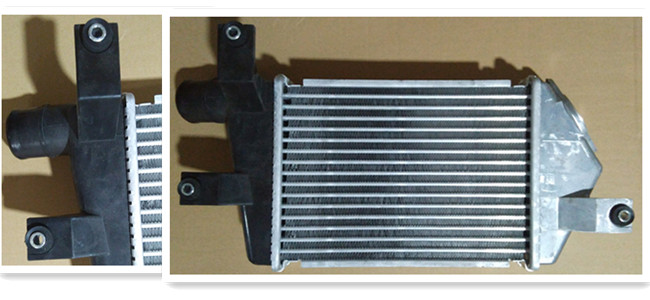 Customerized Mitsubishi L200 Intercooler , Mitsubishi Triton Intercooler