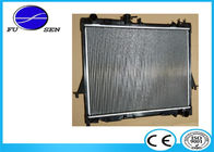 China Easy Installation Isuzu D MAX Radiator , Isuzu Car Radiator Replacement factory